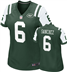New York Jets - M. Sanchez #6 Woman Jersey