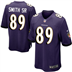 Baltimore Ravens - S. Smith #89 Home Jersey