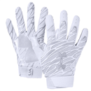 UA 1351538 Spotlight Gloves White